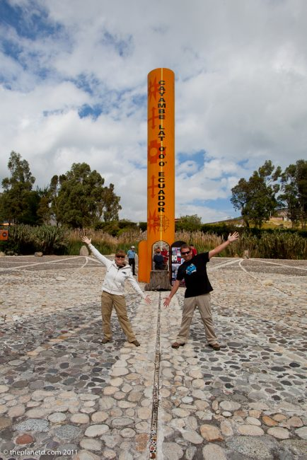 Straddling the Equator – Finally