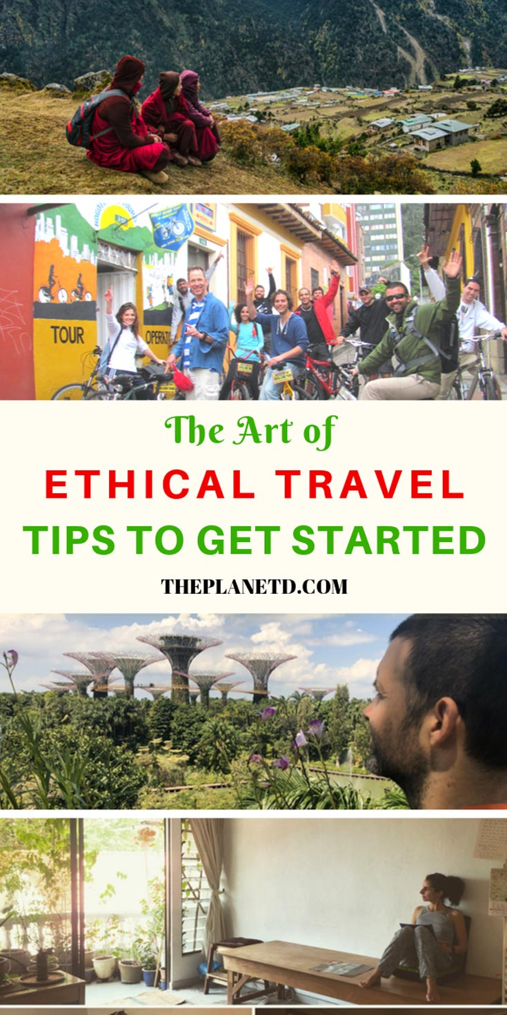 ethical travelers - travel tips for responsible tourism