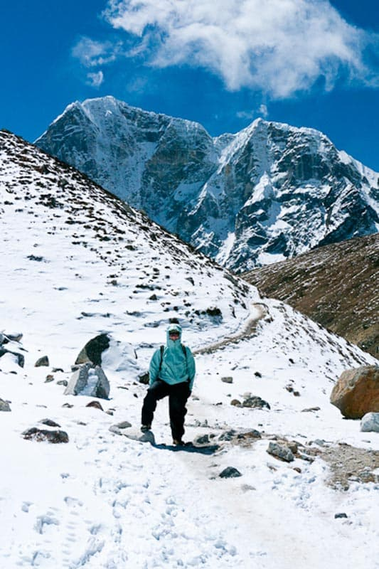 EBC trek cold altitude