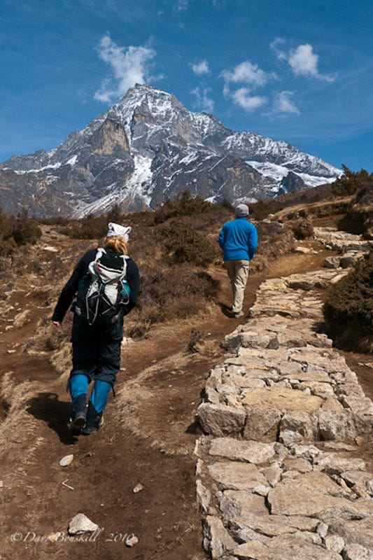 mount everest base camp trekker and guide