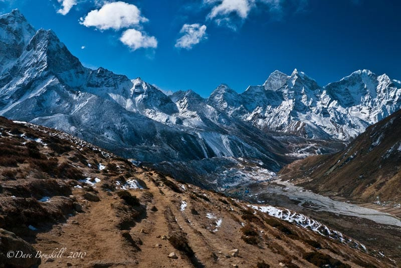 view from ebc trek