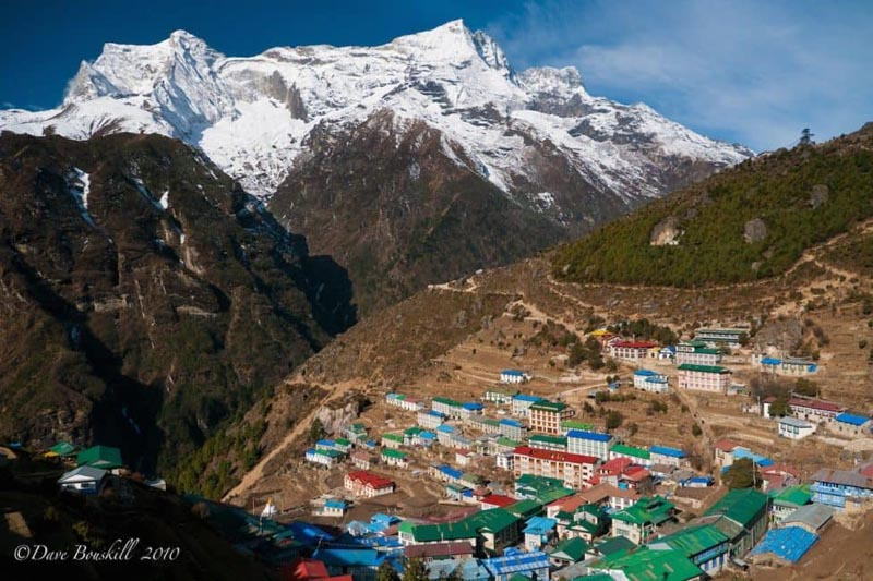 mount everest base camp trek namche bazaar