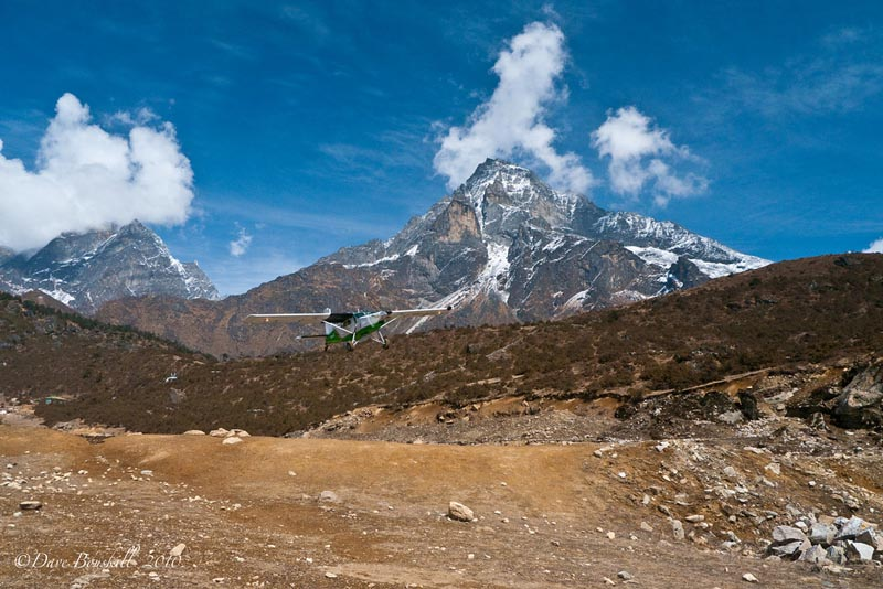 mount everest base camp airstrip