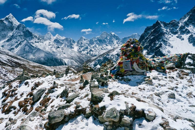 Mount Everest Sherpas Monuments