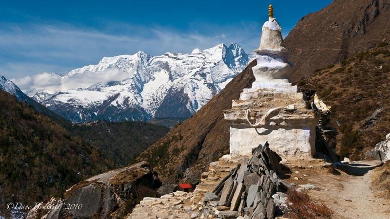 ebc trek sherpa stupa