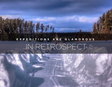 expeditions are glamorous in retrospect