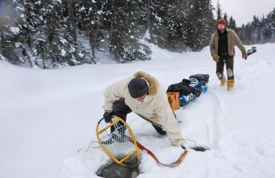 expeditions are glamorous snowshoe