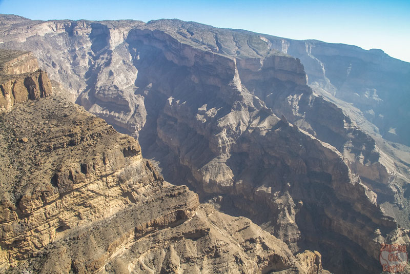 things to do in OMan, the Jebel Shams. mountain