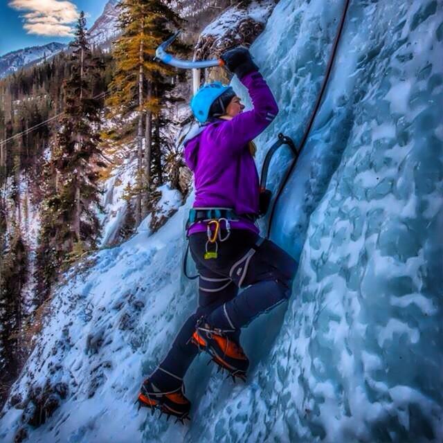 Ice Climbing Alberta