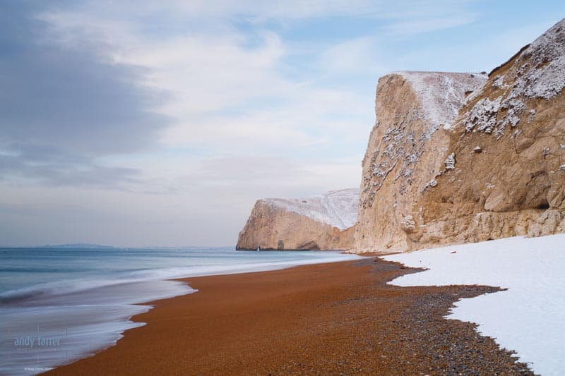 places to visit in dorset bats head snow beach
