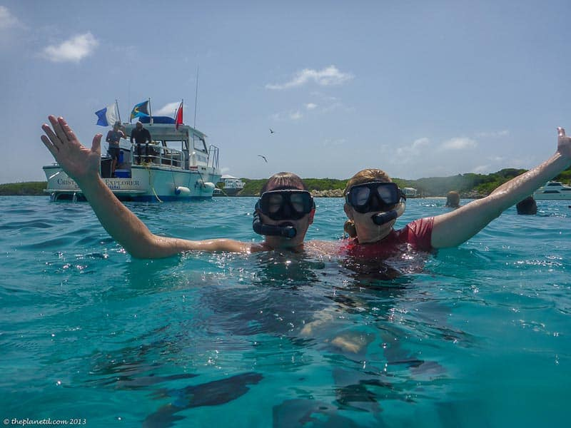 snorkeling in the exuma cays