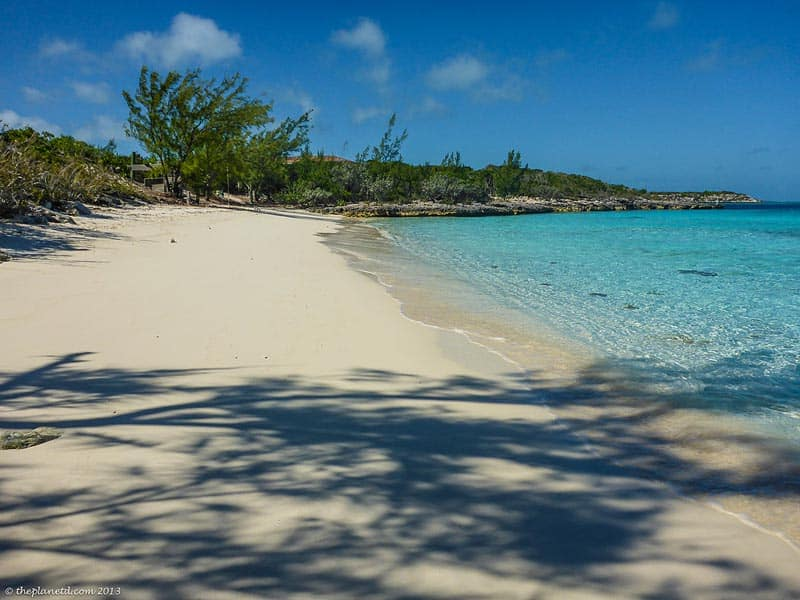 deserted beaches in the exuma bahamas