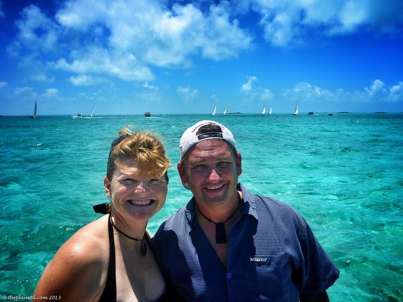 dave and deb in the bahamas