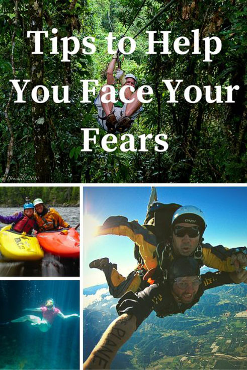 face your fears pin