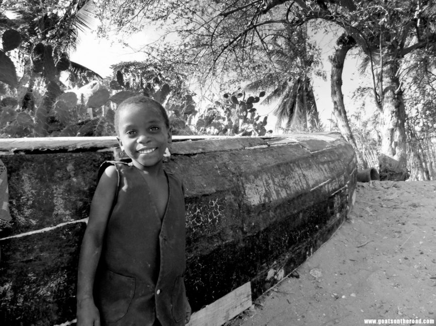 travel photos of boy in Mozambique