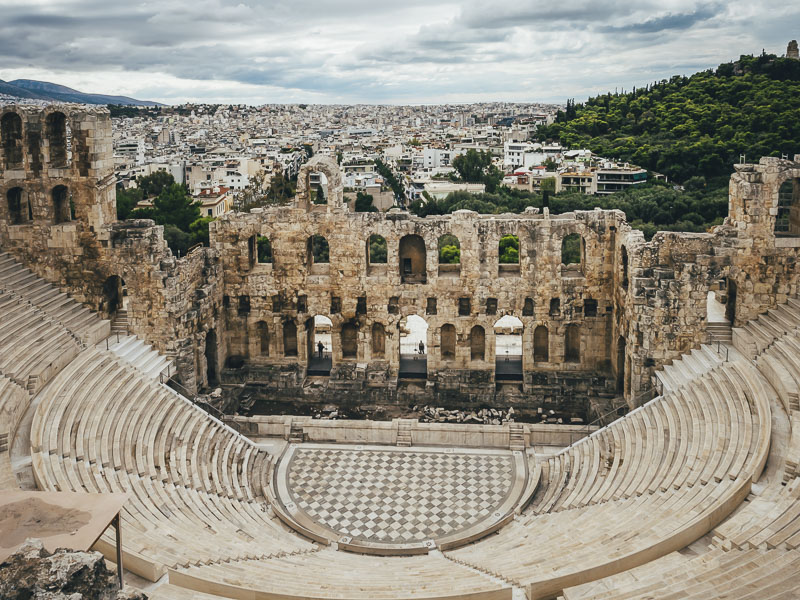 greek facts ancient temples odeon