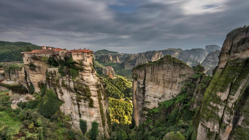 facts about greek history | meteora