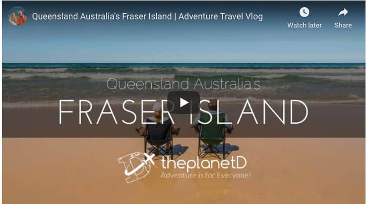 fraser island four by four adventure