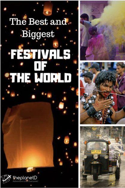 best and biggest festivals around the world