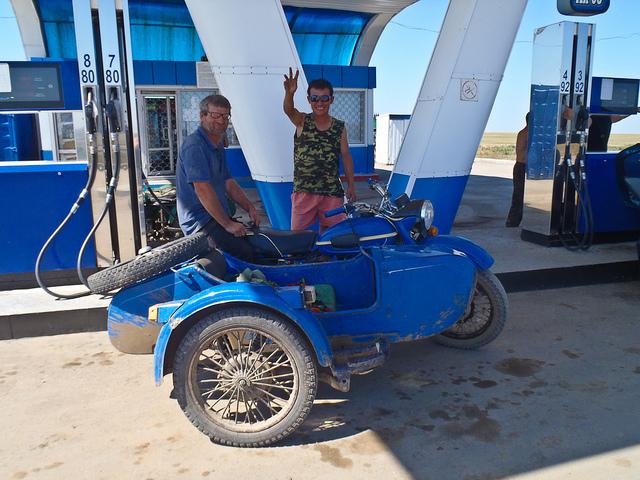 fill up a car mongol