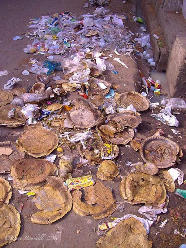 filth in india garbage