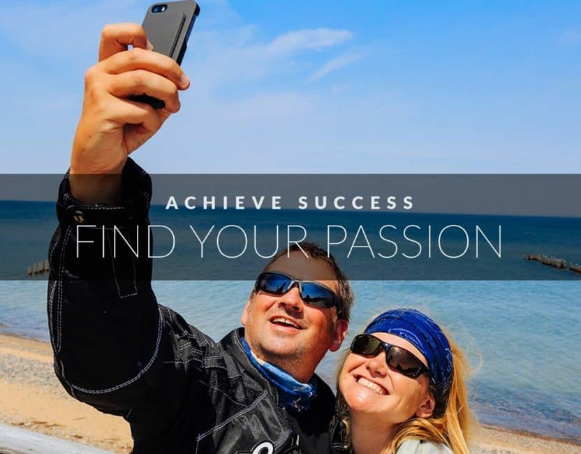 find your passion achieve success