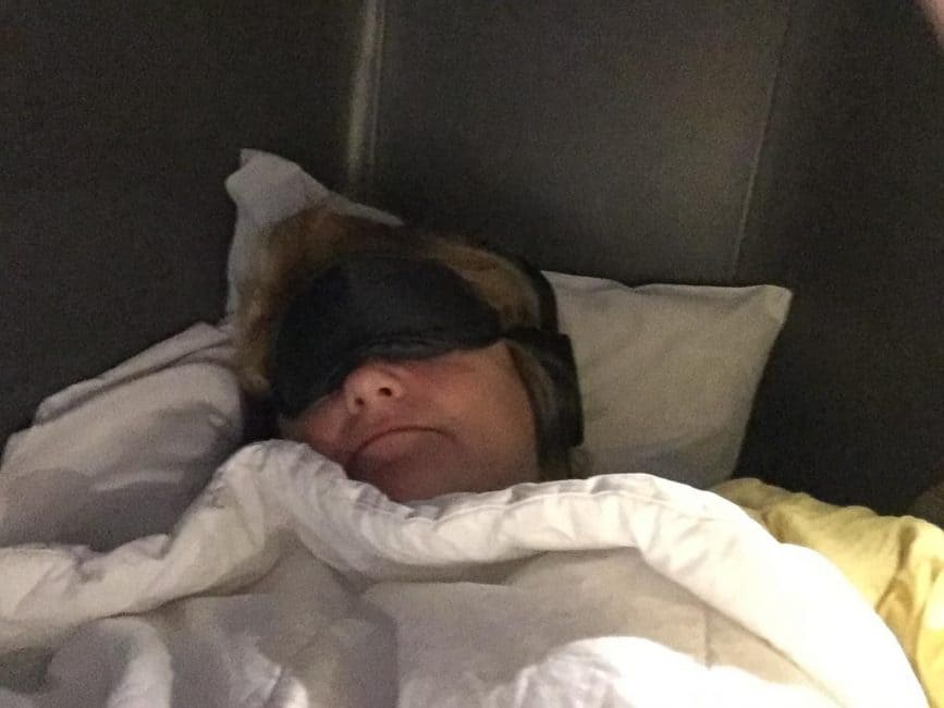 air canada eye mask
