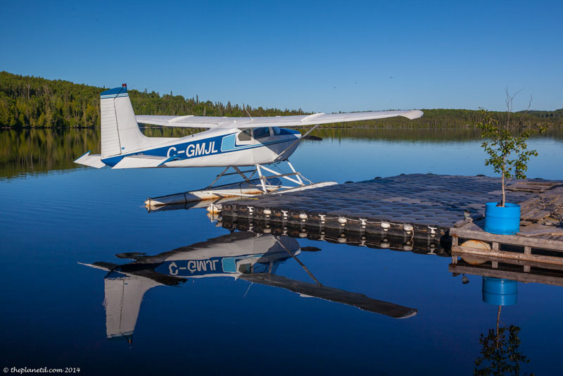 lodges ontario seaplane