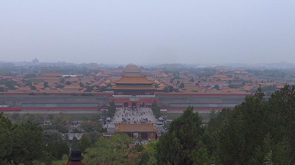 overview of forbidden city