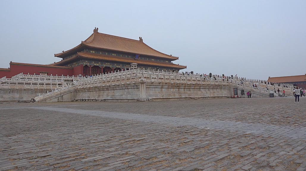 forbidden city marble outer wall