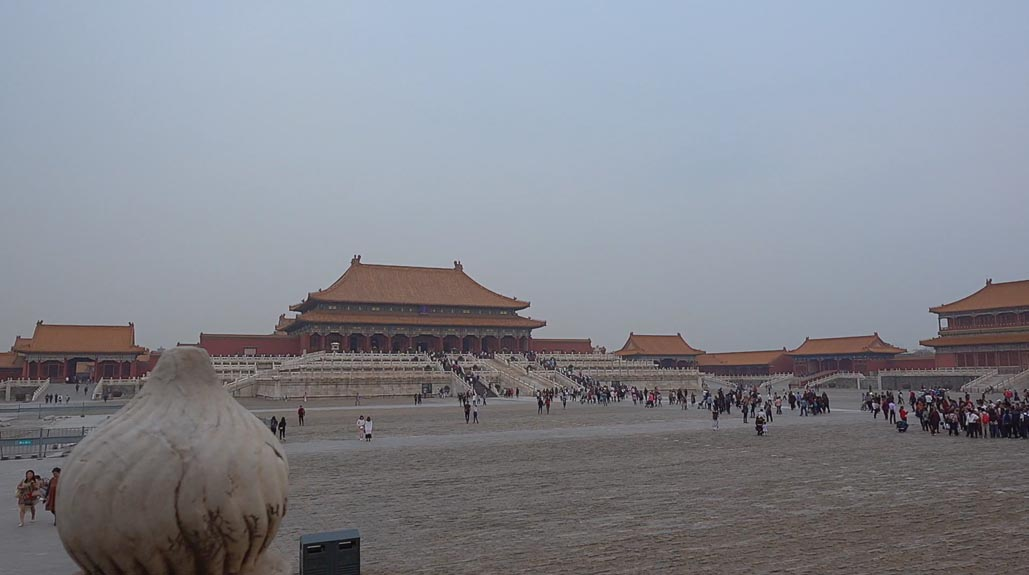 forbidden city outer walls