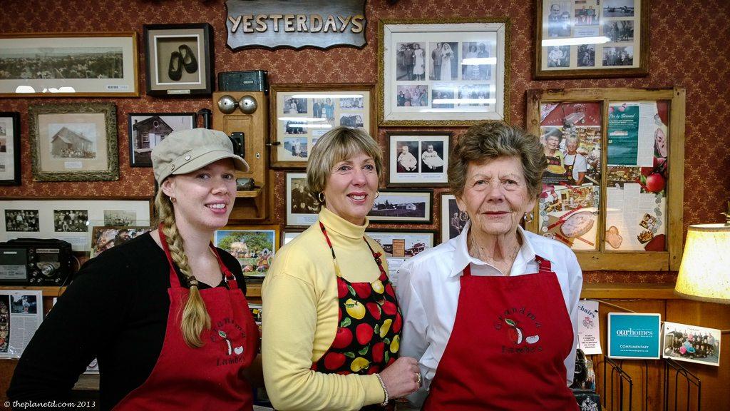 Three Generations at Grandma Lambes