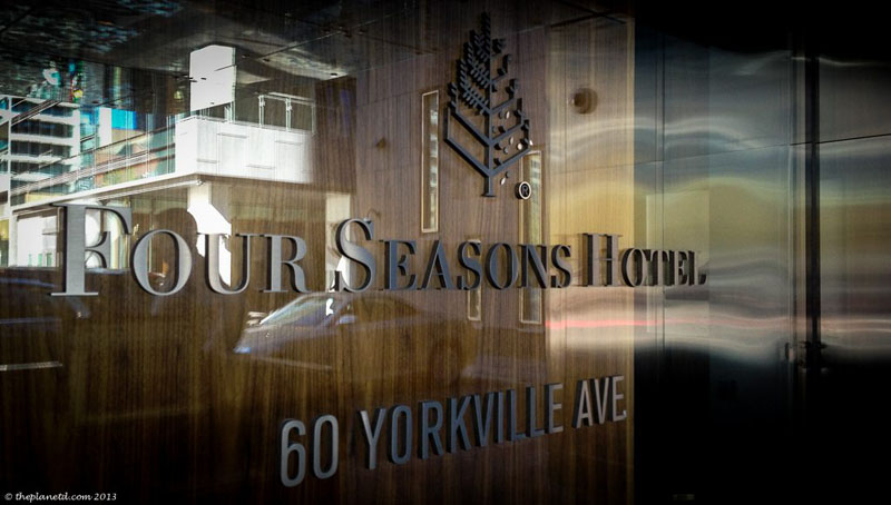 four seasons toronto sign