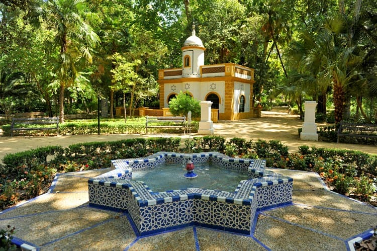 seville for free | maria luisa park