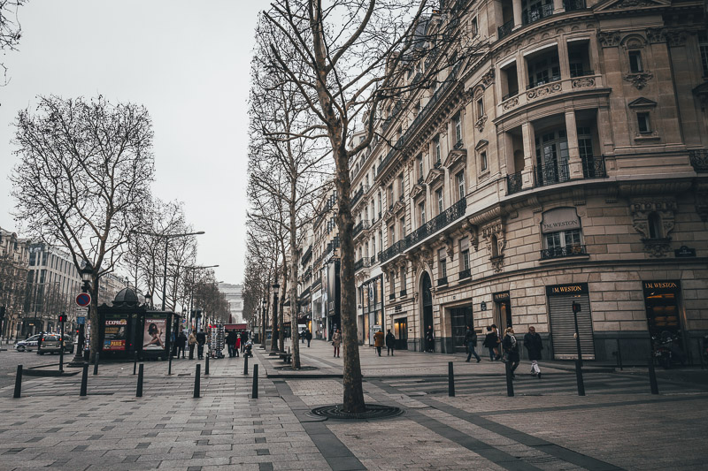 Walk the Champs-Elysees in Paris for Free