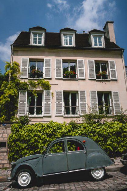 Streets of Montmartre Paris