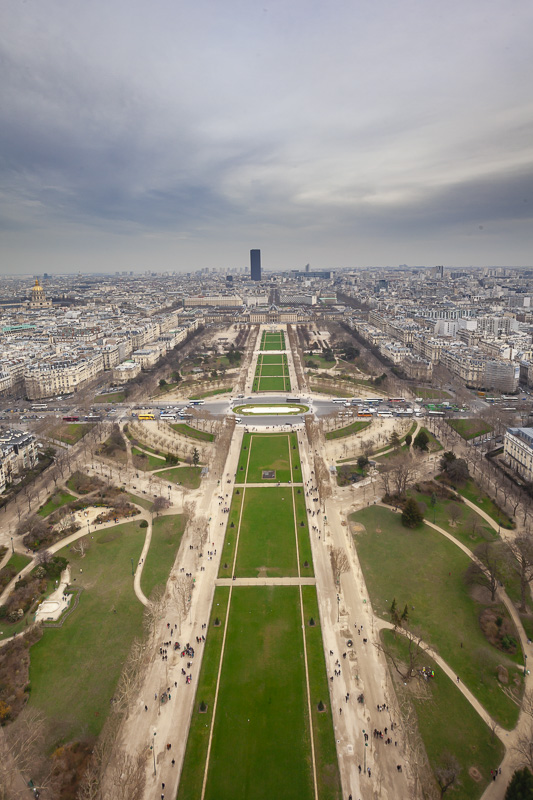 Visit the Parc Champs de Mars is one of the many free things to do in Paris