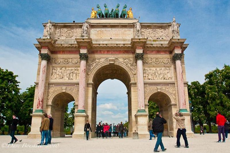 paris for free arc de triomphe