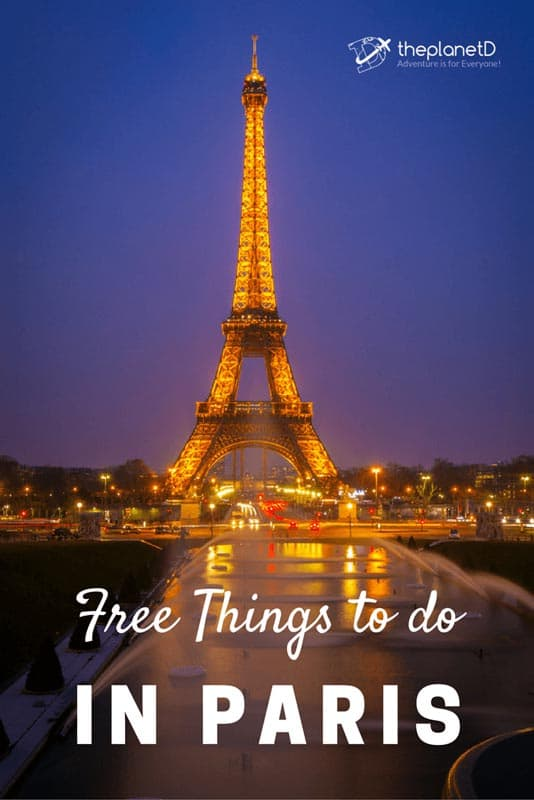 free things in paris