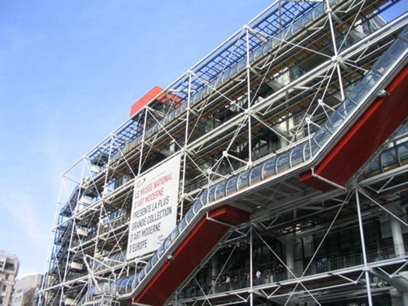 paris for free pompidou centre