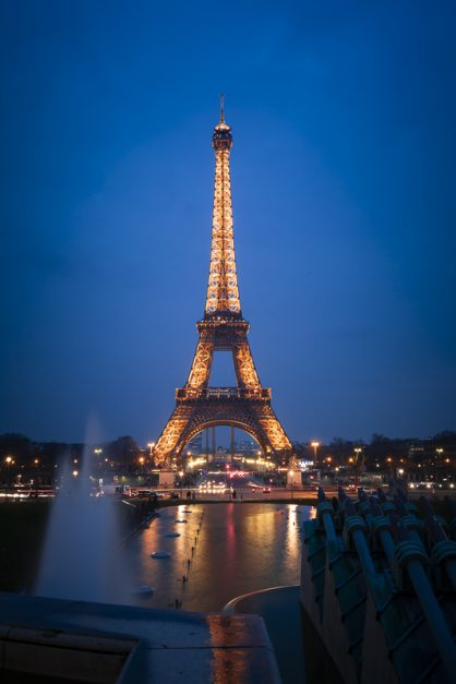 Trocadero Square in Paris for a great view of Eiffel Tower