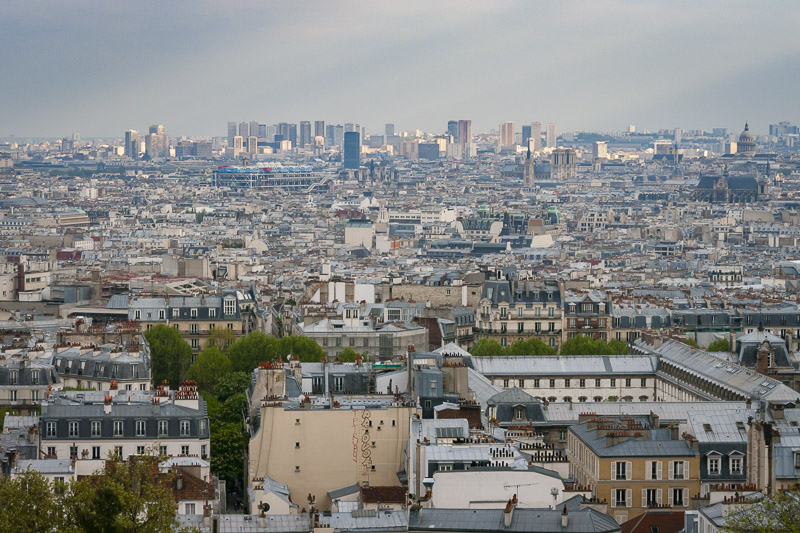 Best Free view of Paris is in Montmartre