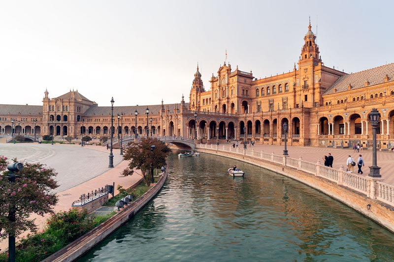 free thigns to do in seville - Plaza de Espana