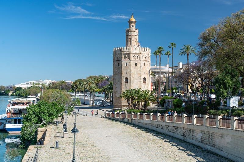 Севилья Испания бесплатно | прогулка по реке