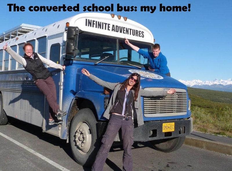 traveling bus