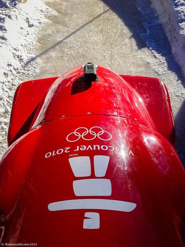 whistler bobsleigh pov