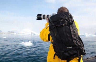 dave taking photos in antarctica