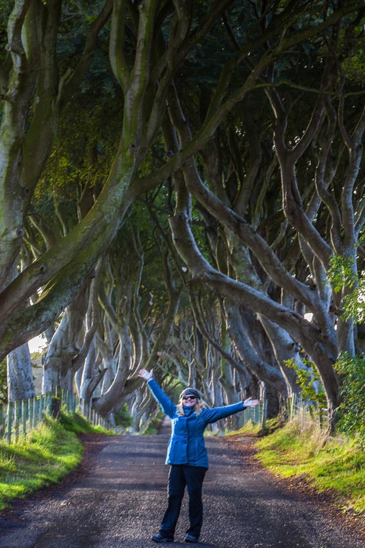GOT tour Dark Hedges