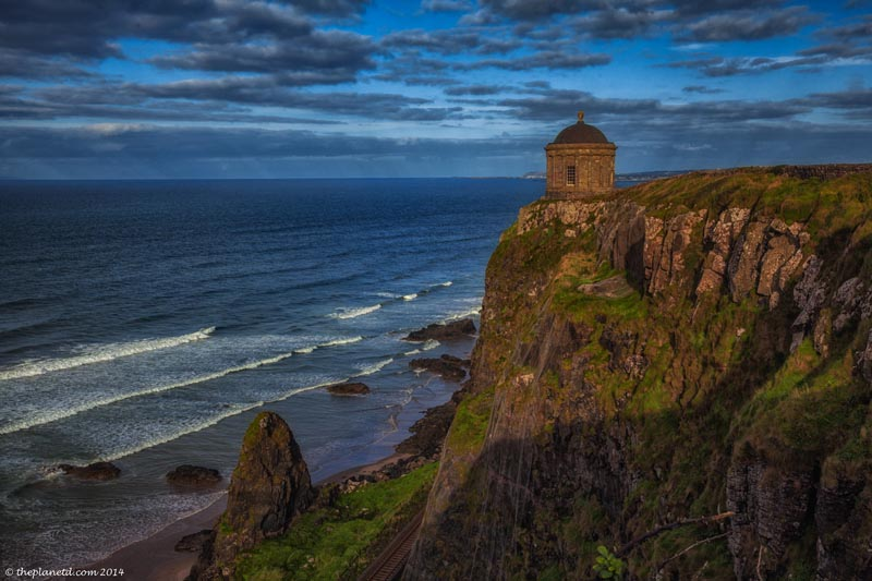 Mussenden Temple is another stop on the Game of Thrones tour through ireland