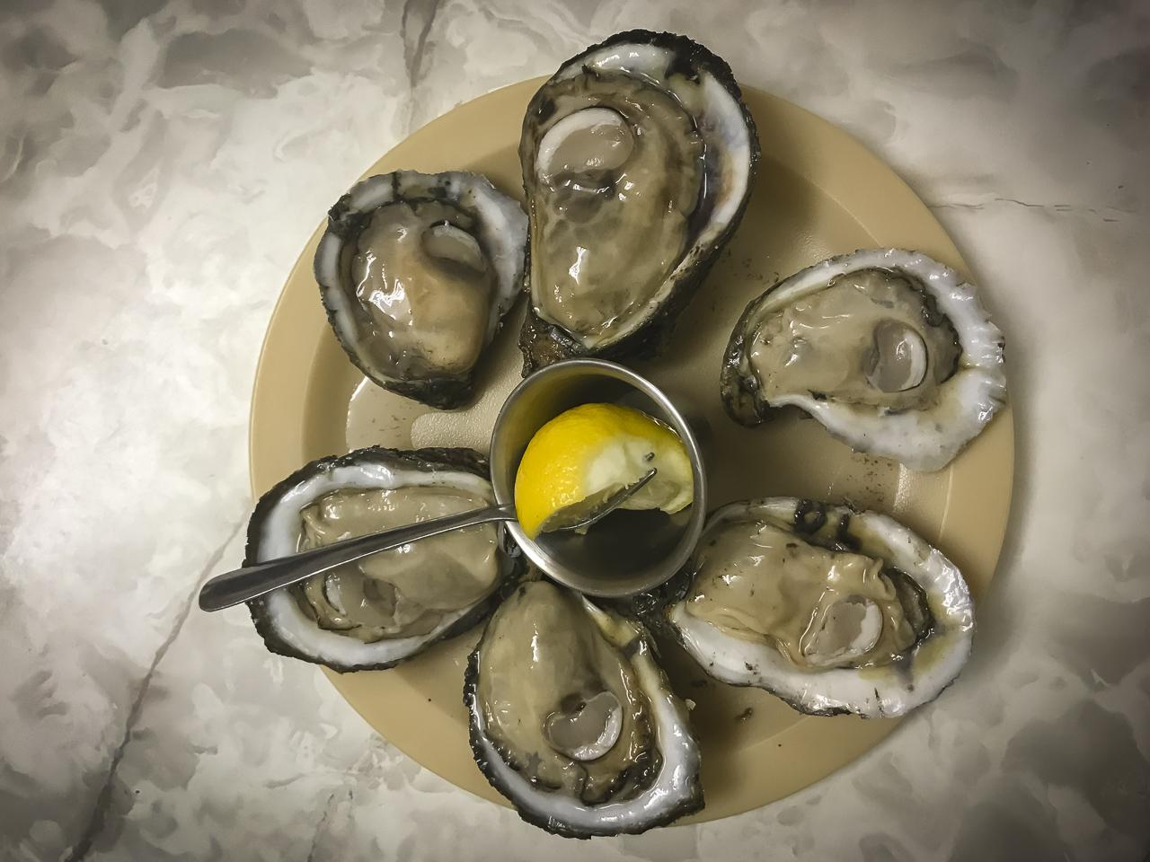 Oysters at Casamentos